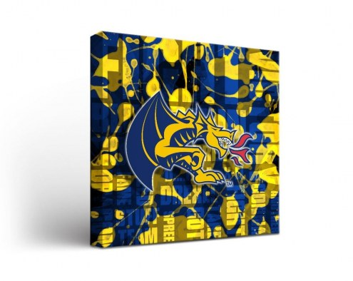 Drexel Dragons Fight Song Canvas Wall Art