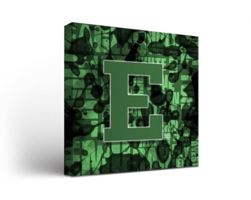 Eastern Michigan Eagles Fight Song Canvas Wall Art