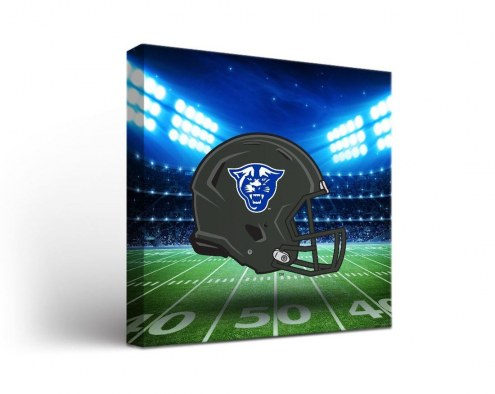Georgia State Panthers Vintage Canvas Wall Art