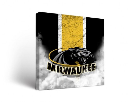 Wisconsin Milwaukee Panthers Vintage Canvas Wall Art