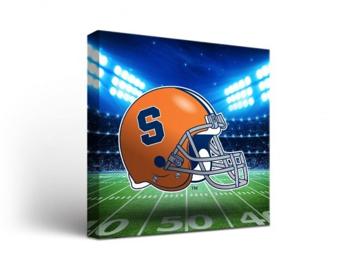 Syracuse Orange Stadium Canvas Wall Art