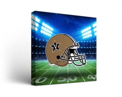Vanderbilt Commodores Stadium Canvas Wall Art