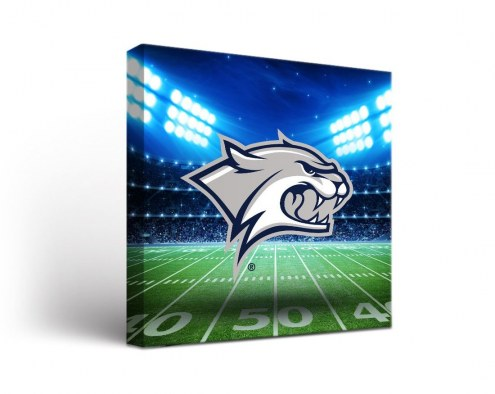 New Hampshire Wildcats Stadium Canvas Wall Art