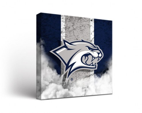 New Hampshire Wildcats Vintage Canvas Wall Art