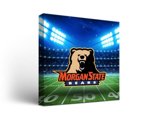 Morgan State Bears Stadium Canvas Wall Art