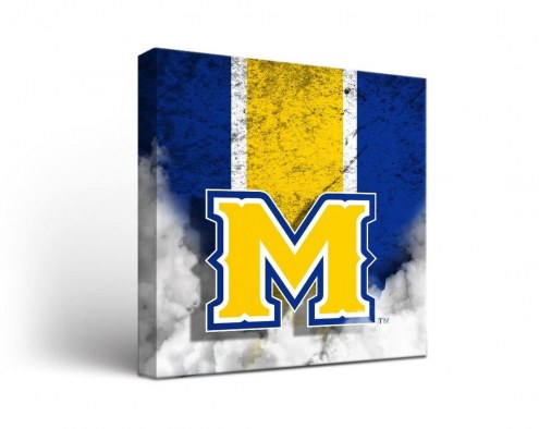 McNeese State Cowboys Vintage Canvas Wall Art