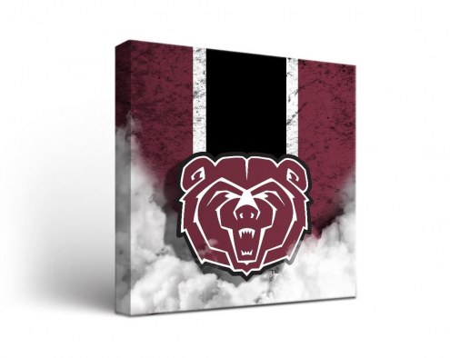 Missouri State Bears Vintage Canvas Wall Art