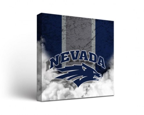 Nevada Wolf Pack Vintage Canvas Wall Art
