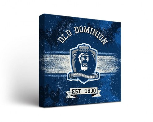 Old Dominion Monarchs Banner Canvas Wall Art