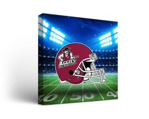 New Mexico State Aggies Stadium Canvas Wall Art