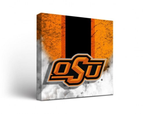 Oklahoma State Cowboys Vintage Canvas Wall Art