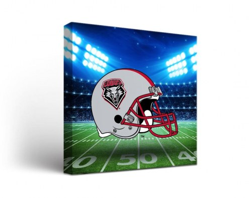 New Mexico Lobos Stadium Canvas Wall Art