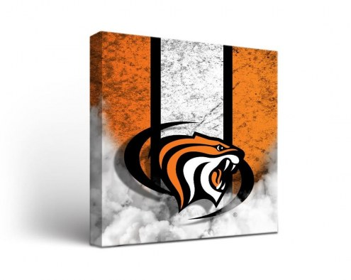 Pacific Tigers Vintage Canvas Wall Art