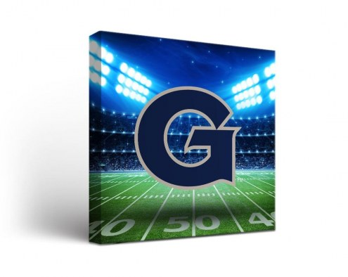 Georgetown Hoyas Stadium Canvas Wall Art