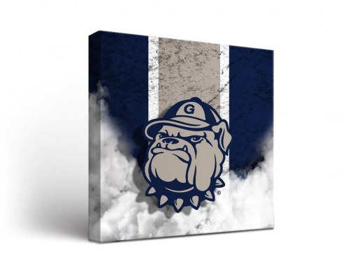 Georgetown Hoyas Vintage Canvas Wall Art