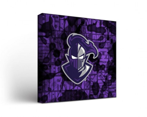 Furman Paladins Fight Song Canvas Wall Art