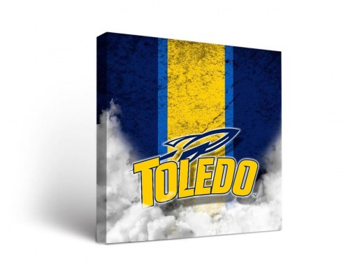 Toledo Rockets Vintage Canvas Wall Art