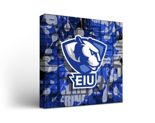 Eastern Illinois Panthers Fight Song Canvas Wall Art