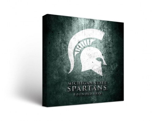 Michigan State Spartans Museum Canvas Wall Art