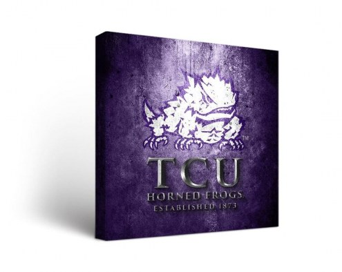 Texas Christian Horned Frogs Museum Canvas Wall Art