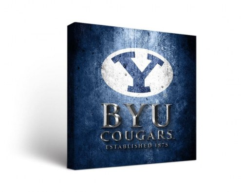 BYU Cougars Museum Canvas Wall Art