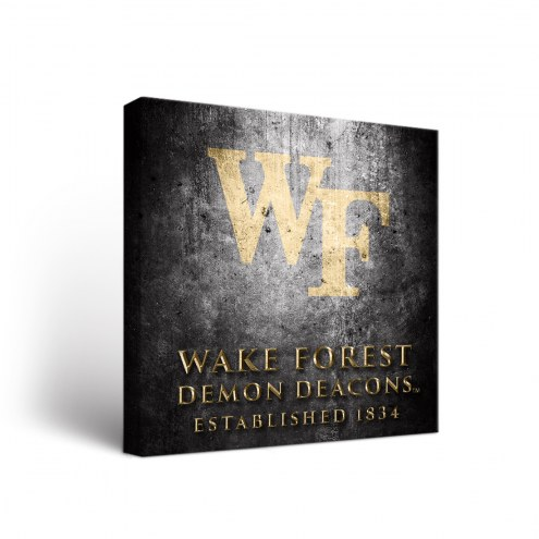 Wake Forest Demon Deacons Museum Canvas Wall Art