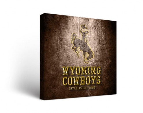 Wyoming Cowboys Museum Canvas Wall Art