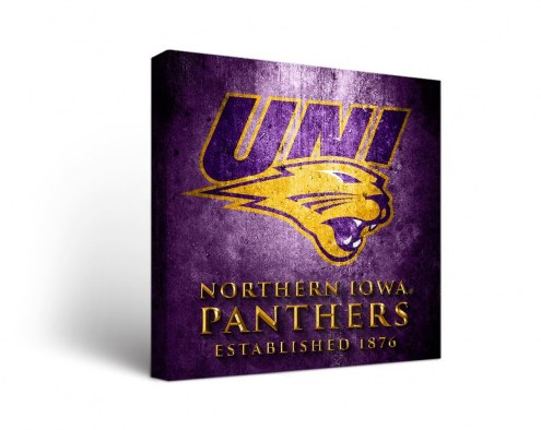 Northern Iowa Panthers Museum Canvas Wall Art