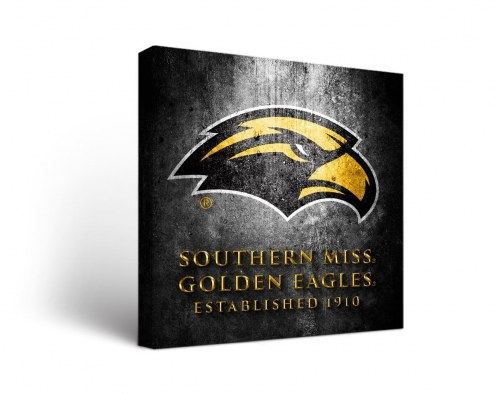 Southern Mississippi Golden Eagles Museum Canvas Wall Art