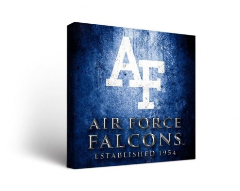 Air Force Falcons Museum Canvas Wall Art