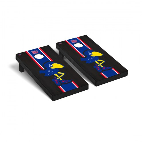 Kansas Jayhawks College Vault Cornhole Game Set