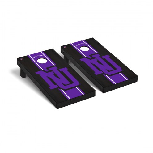 Northwestern Wildcats College Vault Cornhole Game Set