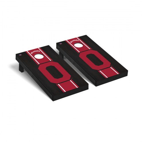 Oklahoma Sooners College Vault Cornhole Game Set