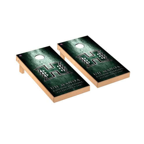 Hawaii Warriors Victory Cornhole Game Set