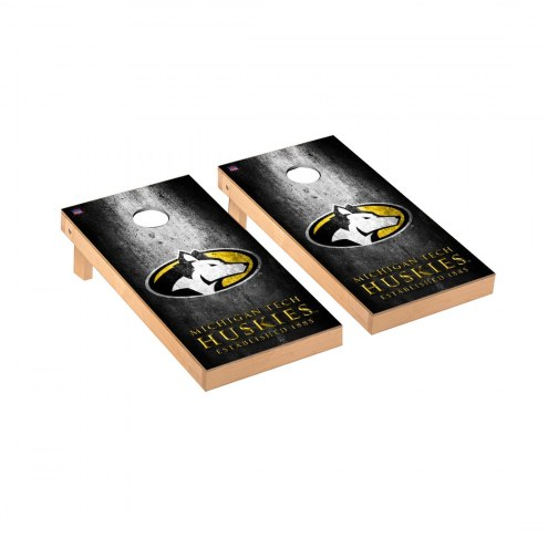 Michigan Tech Huskies Victory Cornhole Game Set