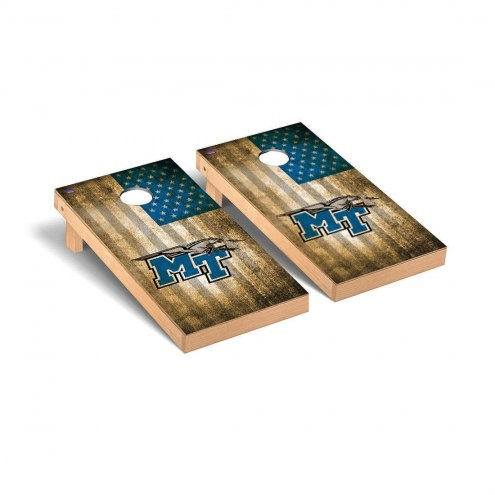 Middle Tennessee State Blue Raiders Victory Cornhole Game Set