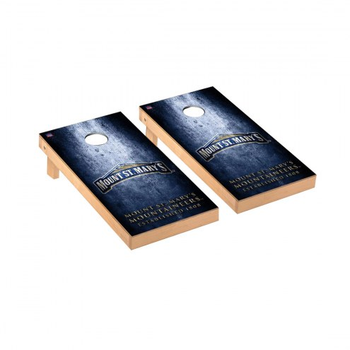 Mount St. Mary's Mountaineers Victory Cornhole Game Set
