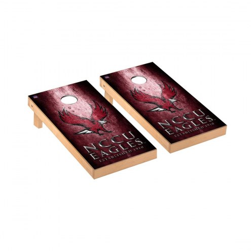 North Carolina Central Eagles Victory Cornhole Game Set