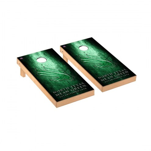 North Texas Mean Green Victory Cornhole Game Set