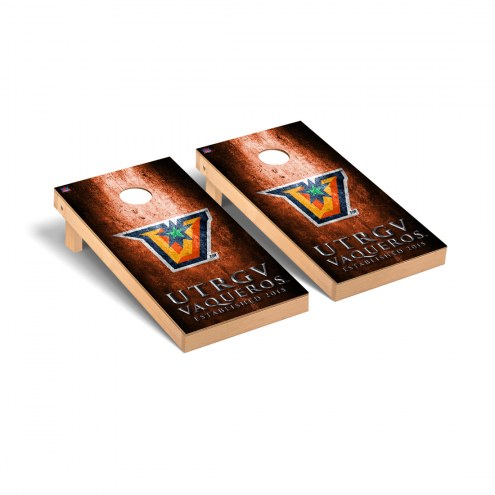 Texas Rio Grande Valley Vaqueros Victory Cornhole Game Set