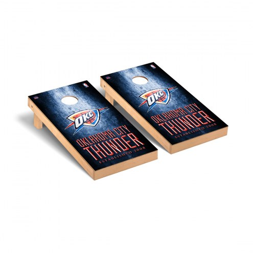 Oklahoma City Thunder Victory Cornhole Game Set