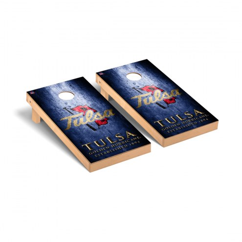 Tulsa Golden Hurricane Victory Cornhole Game Set