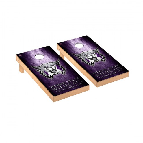 Weber State Wildcats Victory Cornhole Game Set