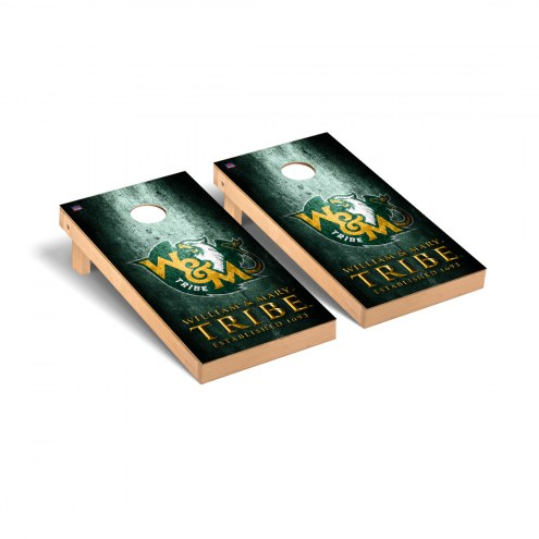 William & Mary Tribe Victory Cornhole Game Set