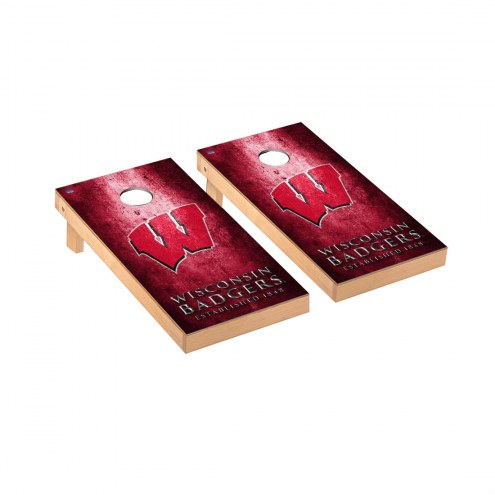 Wisconsin Badgers Victory Cornhole Game Set