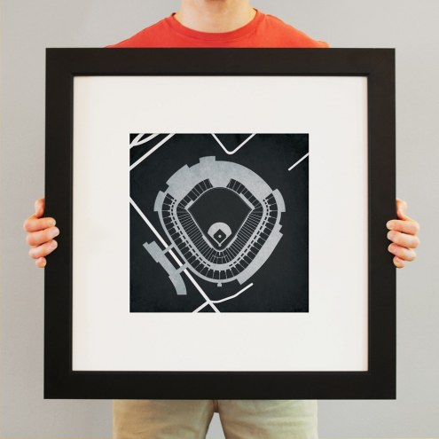 Chicago White Sox US Cellular Field Stadium Print