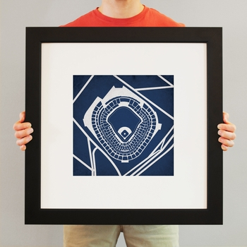 New York Yankees Stadium Print