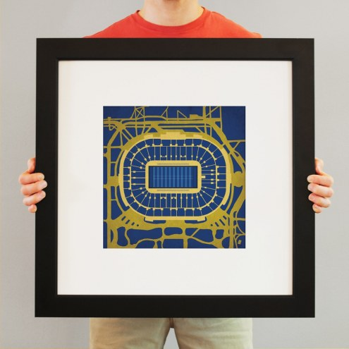 Notre Dame Fighting Irish Stadium Print