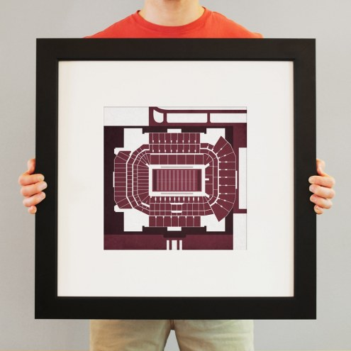 Texas A&M Aggies Kyle Field Stadium Print