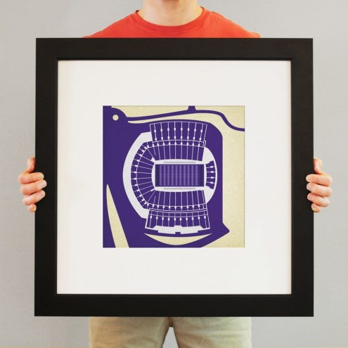 Washington Huskies Stadium Print